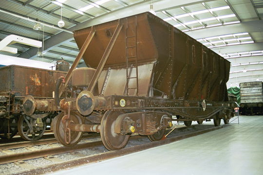 hopper type wagon